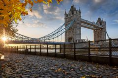 London in autumn time, United Kingdom Stock Photography