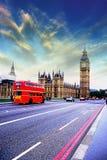 London av coulors Royaltyfri Fotografi