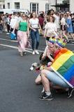 London bög Pride Parade 2017 Arkivfoto