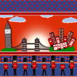 London background Stock Photos