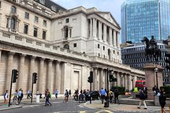 London Bank of England Stock Photo