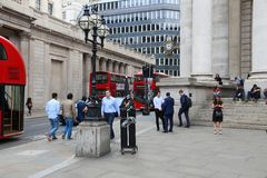 London Bank Junction Royalty Free Stock Image