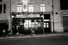 London bar fotografering för bildbyråer