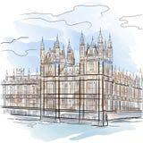 london basztowy wektor Zdjęcie Stock