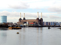 London Battersea powerstation Royalty Free Stock Images