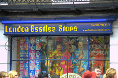 London Beatles Store Royalty Free Stock Image