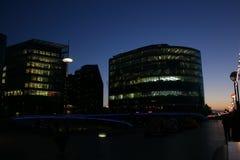 London. Beautiful night shot of London Royalty Free Stock Photos