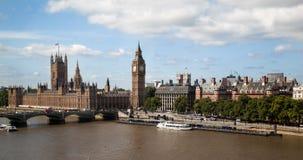 парламент Англии london большого здания ben Стоковое Фото
