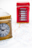 London berömda symboler Royaltyfria Bilder