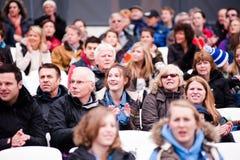 London bereitet sich vor: Olympische Prüfungsereignisse Lizenzfreies Stockfoto