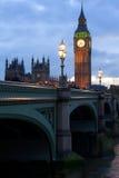 London, big ban. Big Ben in the evening, London, UK Royalty Free Stock Image