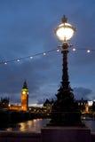 London, big ban. Big Ben in the evening, London, UK Royalty Free Stock Images