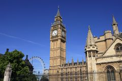 London, Big Ben Lizenzfreies Stockfoto