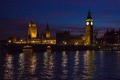 London. Big Ben clock tower. Stock Photography