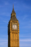 London. Big Ben clock tower. Stock Photo