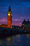 London. Big Ben clock tower. Stock Photo