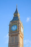 London. Big Ben clock tower. Royalty Free Stock Images