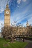 London. Big Ben clock tower. Royalty Free Stock Photos