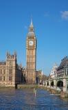 London. Big Ben clock tower. Royalty Free Stock Photography