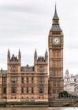 London Big Ben clock tower Stock Photos