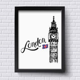 London and Big Ben Royalty Free Stock Photography