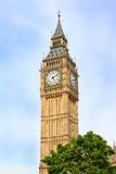 London Big Ben Clocktower Stock Photo