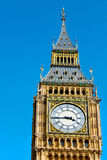 london big ben and  construction england  aged city Royalty Free Stock Image