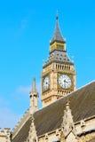 London big ben and construction england  aged city Royalty Free Stock Photos