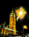 London Big Ben. The Elizabeth Tower in London. It is also known as BigBen Royalty Free Stock Photos
