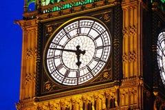 London. Big Ben - London England - evening Royalty Free Stock Photos