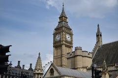 London. Big Ben and London Eye Stock Images