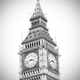 london big ben and historical old construction england  aged cit Royalty Free Stock Photo