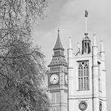 london big ben and historical old construction england  aged cit Stock Images