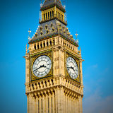 london big ben and historical old construction england  aged cit Stock Photos