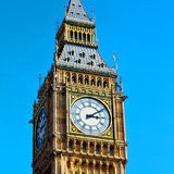 London big ben and historical old construction england  Royalty Free Stock Photography
