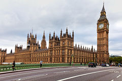 London,The Big Ben. And the Houses of Parliament royalty free stock photography