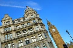 The London Big Ben, London, England Royalty Free Stock Images