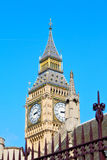 London big ben and old  aged city. London big ben and historical old construction england   city Royalty Free Stock Image