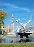 London - Big Ben in Spring Stock Photography