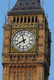 London - Big Ben Tower Clock Royalty Free Stock Photo