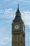 London - Big Ben Tower Clock Stock Image