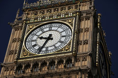 London Big Ben, UK Royalty Free Stock Photo