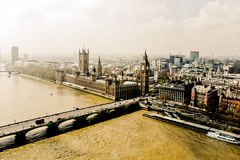 London Big Ben View Royalty Free Stock Photography