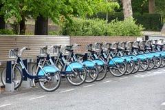 London bike sharing Royalty Free Stock Image