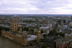 London birds eye view stock image