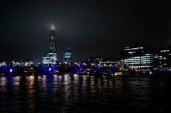 London bis zum Night Lizenzfreie Stockfotos