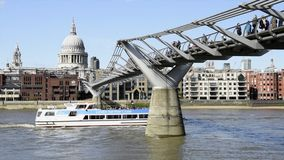 London bis zum Tag, Großbritannien stock footage