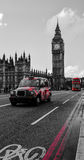 London Black taxi cab Royalty Free Stock Image