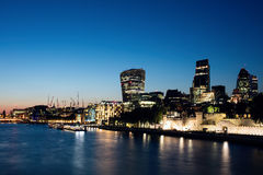 London blue hour Stock Photography