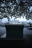 London bokbänkar Royaltyfria Bilder